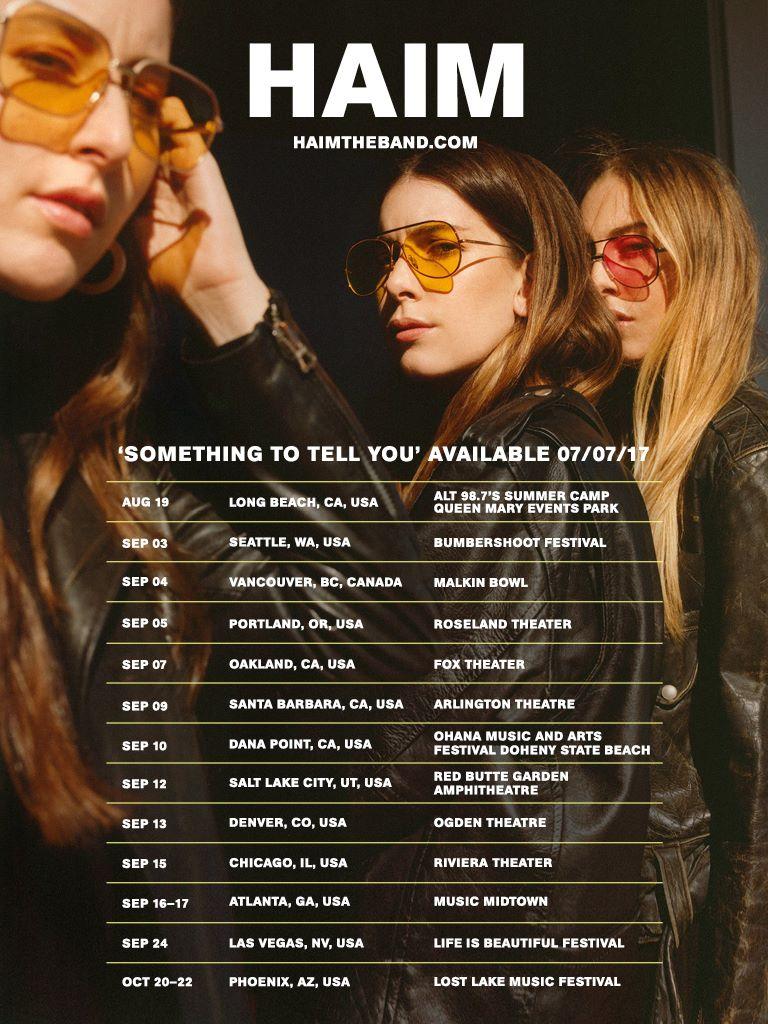 haim something tour