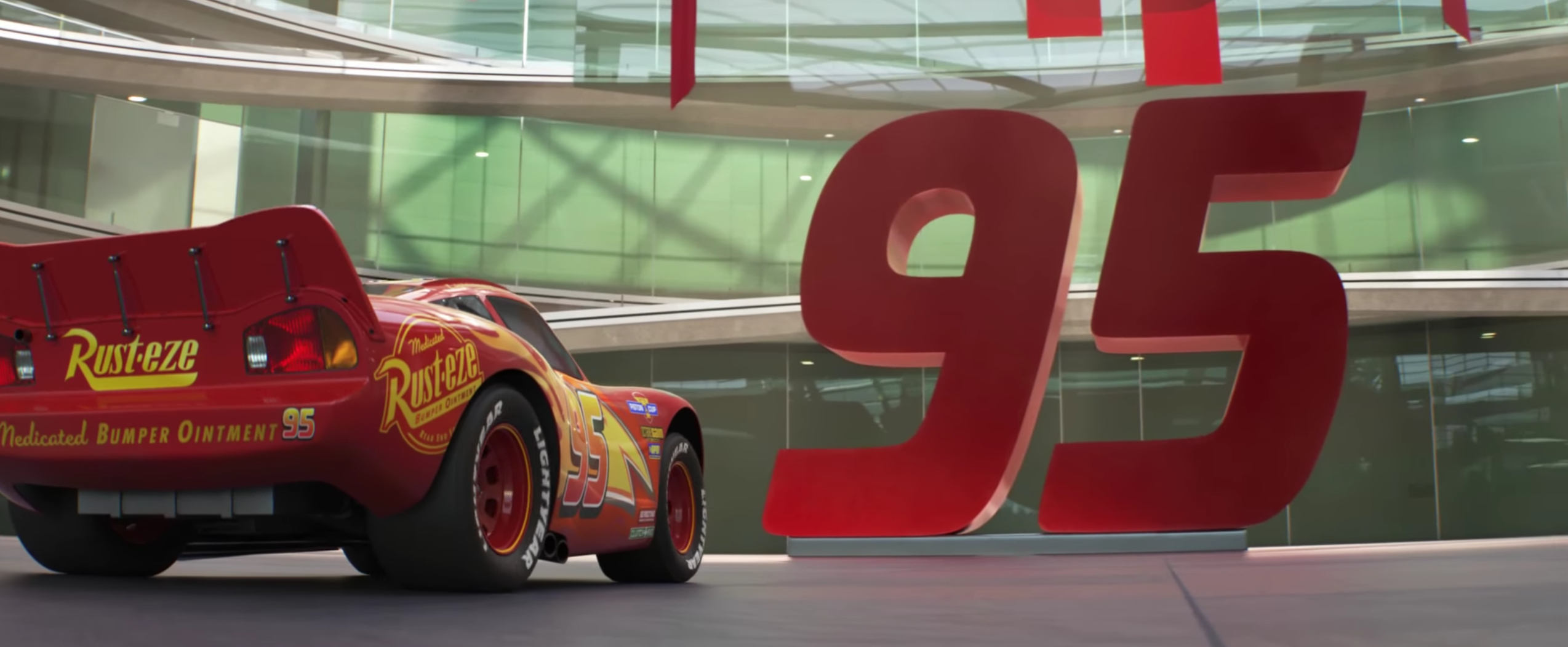 New teaser for 'Cars 3' boasts a gritty turn for the Pixar franchise