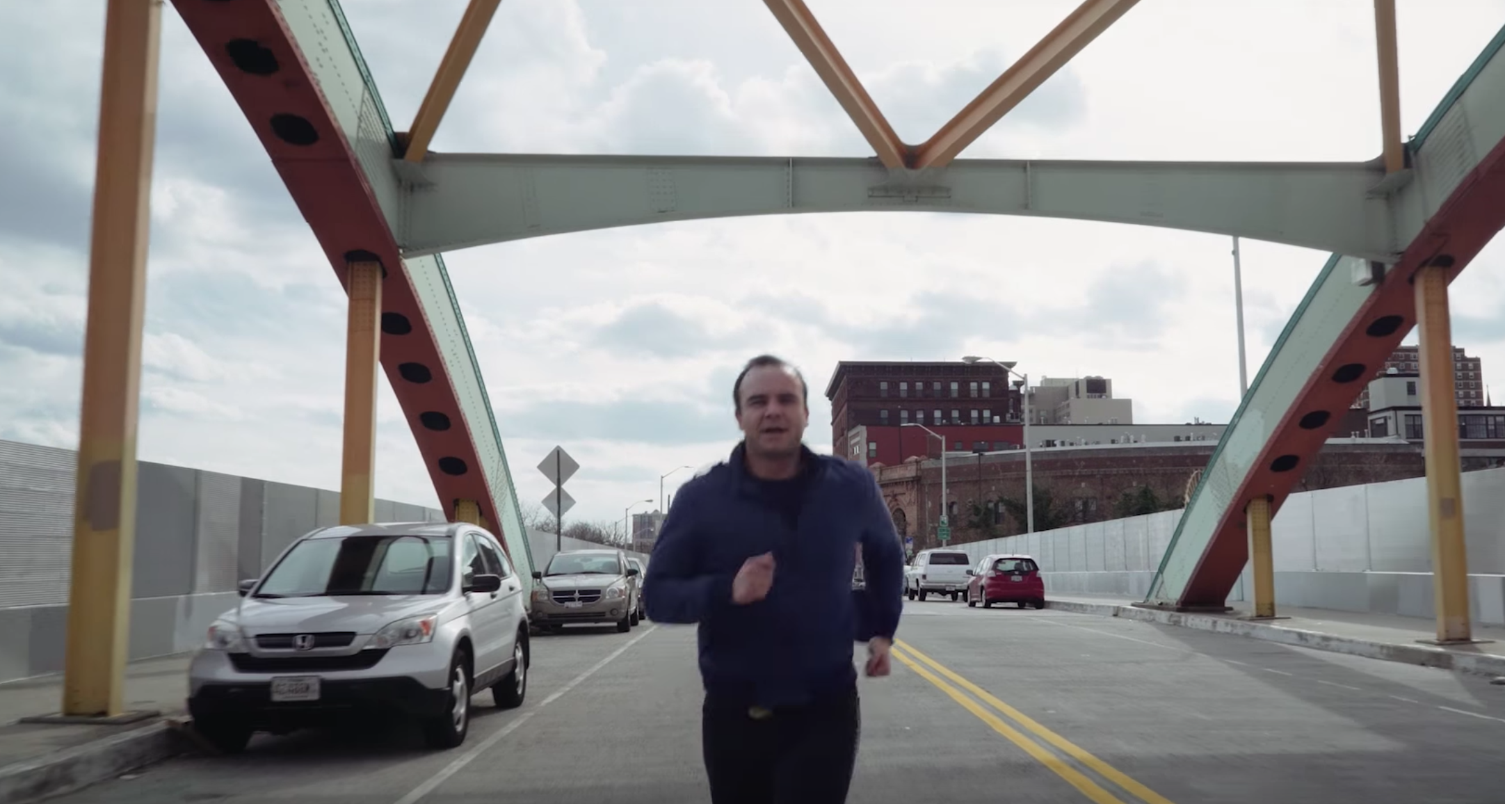 """Future Islands' new video for """"Ran"""" does indeed involve running"""