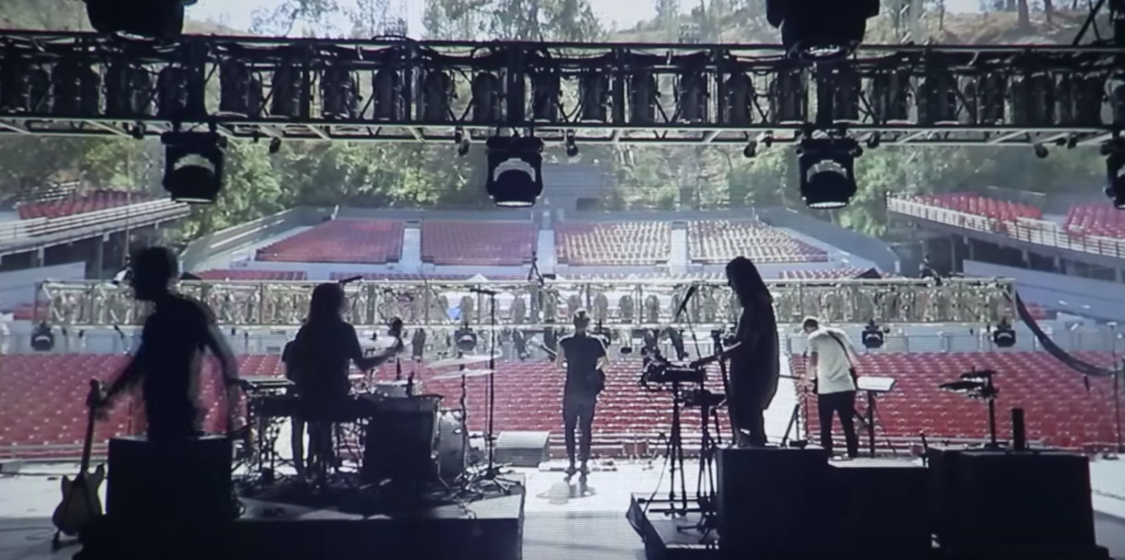 "Go behind the scenes with Local Natives in ""Dark Days"" video"