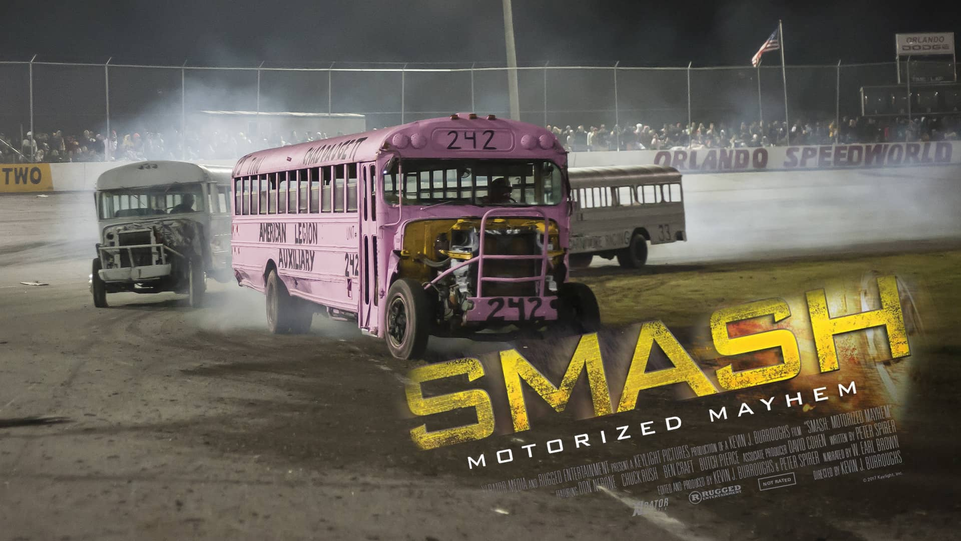 'Smash: Motorized Mayhem' is an inept promo made for its stars