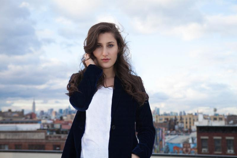 """Sarah Solovay showcases art in her new video for """"Rough Draft"""""""