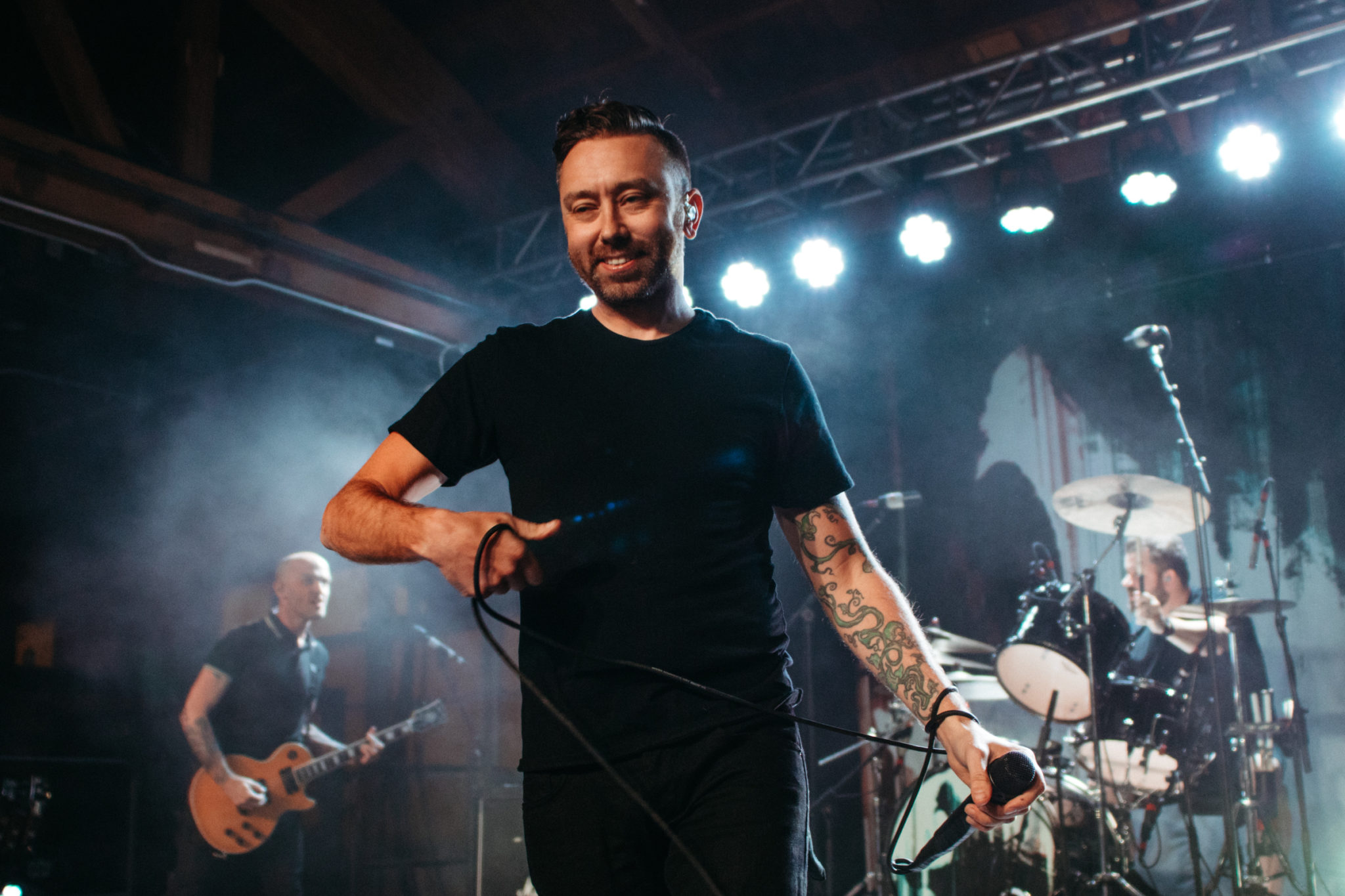 PHOTOS: Rise Against play intimate show at House of Vans in Chicago