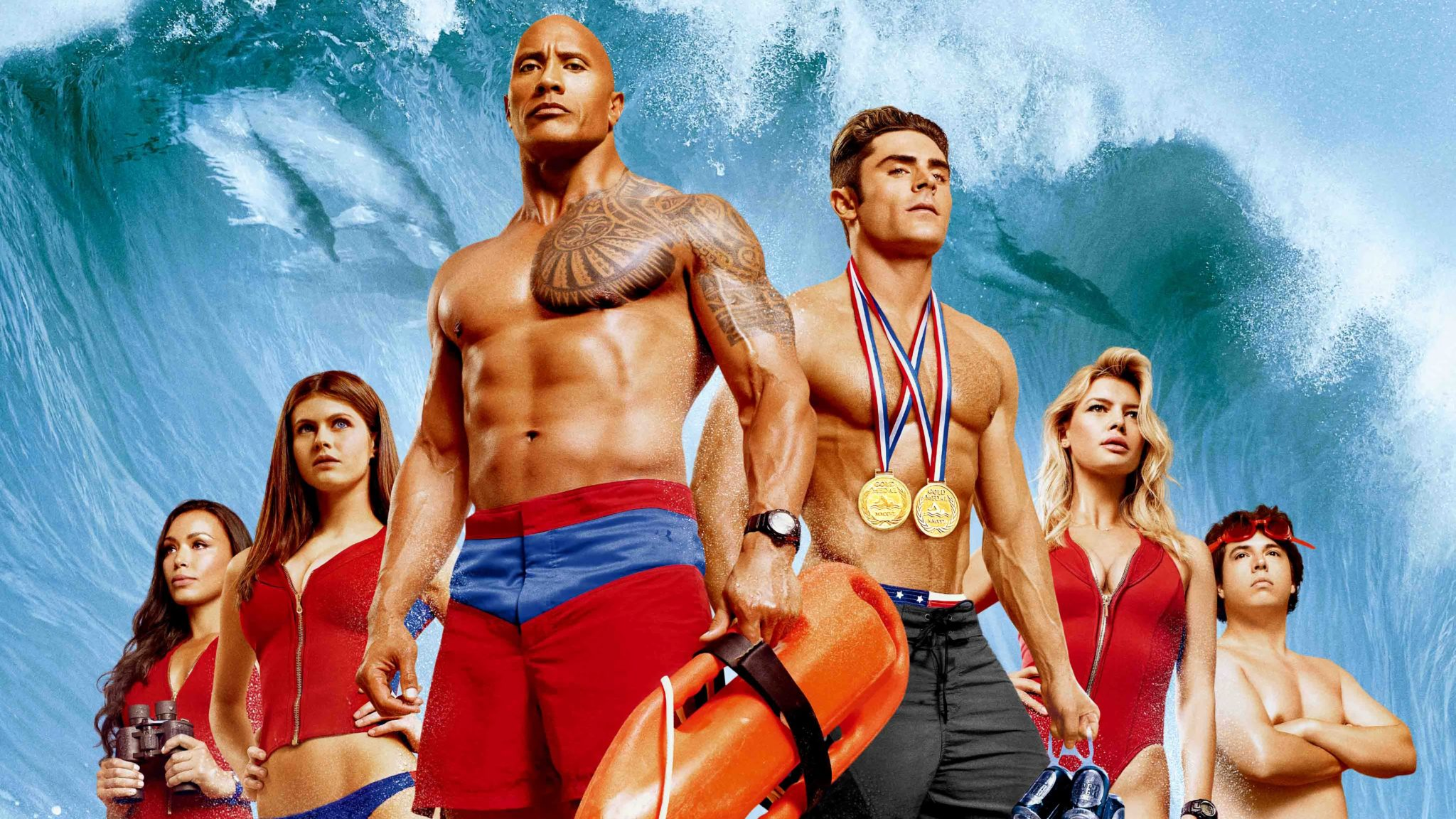 'Baywatch' is a scattershot, filthy, and sometimes funny summer comedy