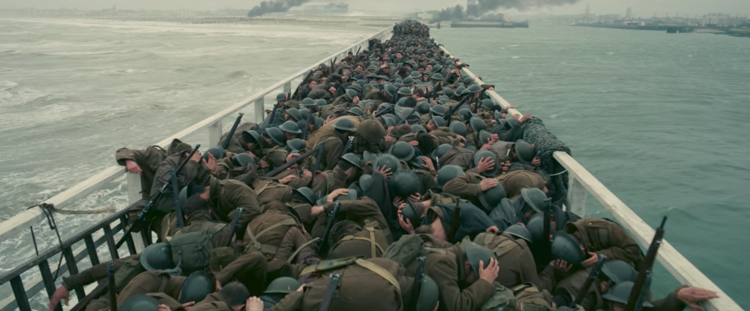 The new trailer for 'Dunkirk' is a heart racing slow burn