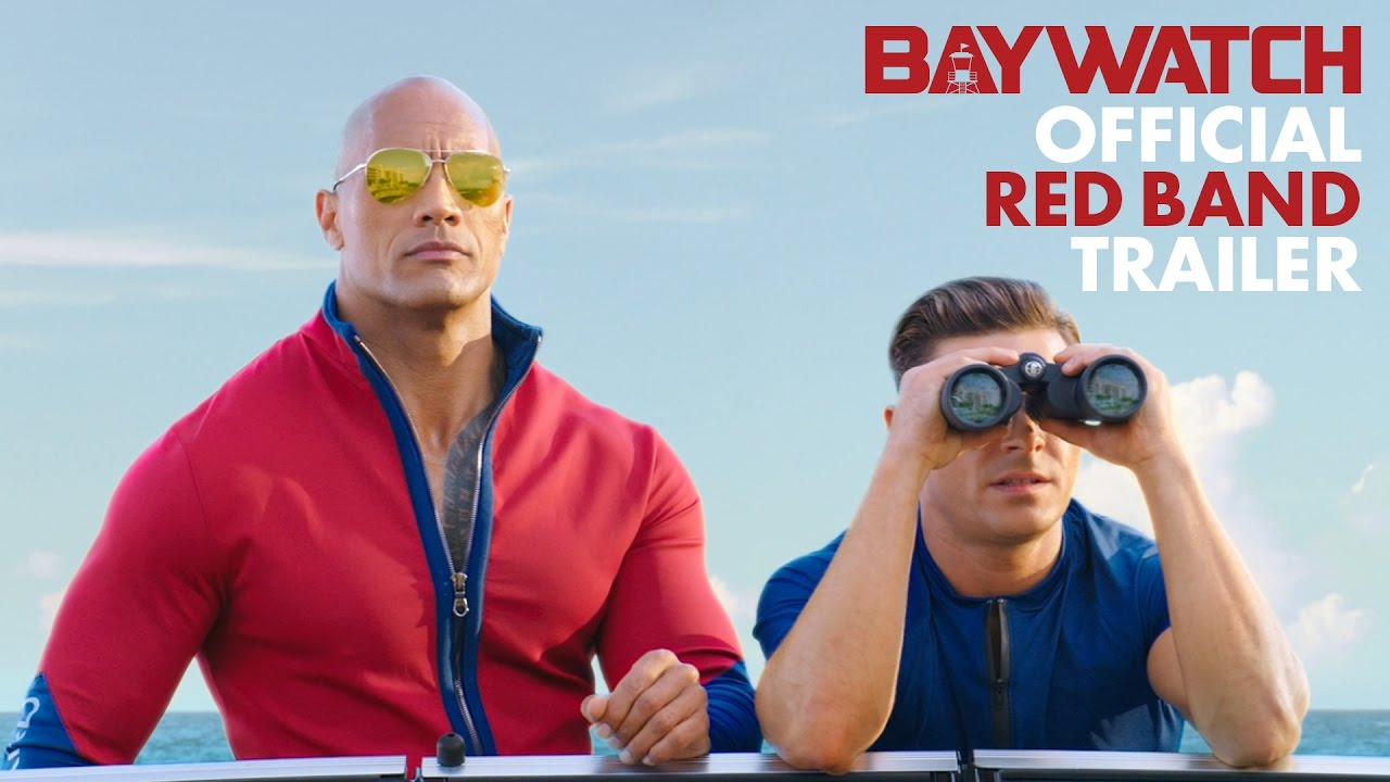Get Rocked and Ef'd by the red band 'Baywatch' trailer