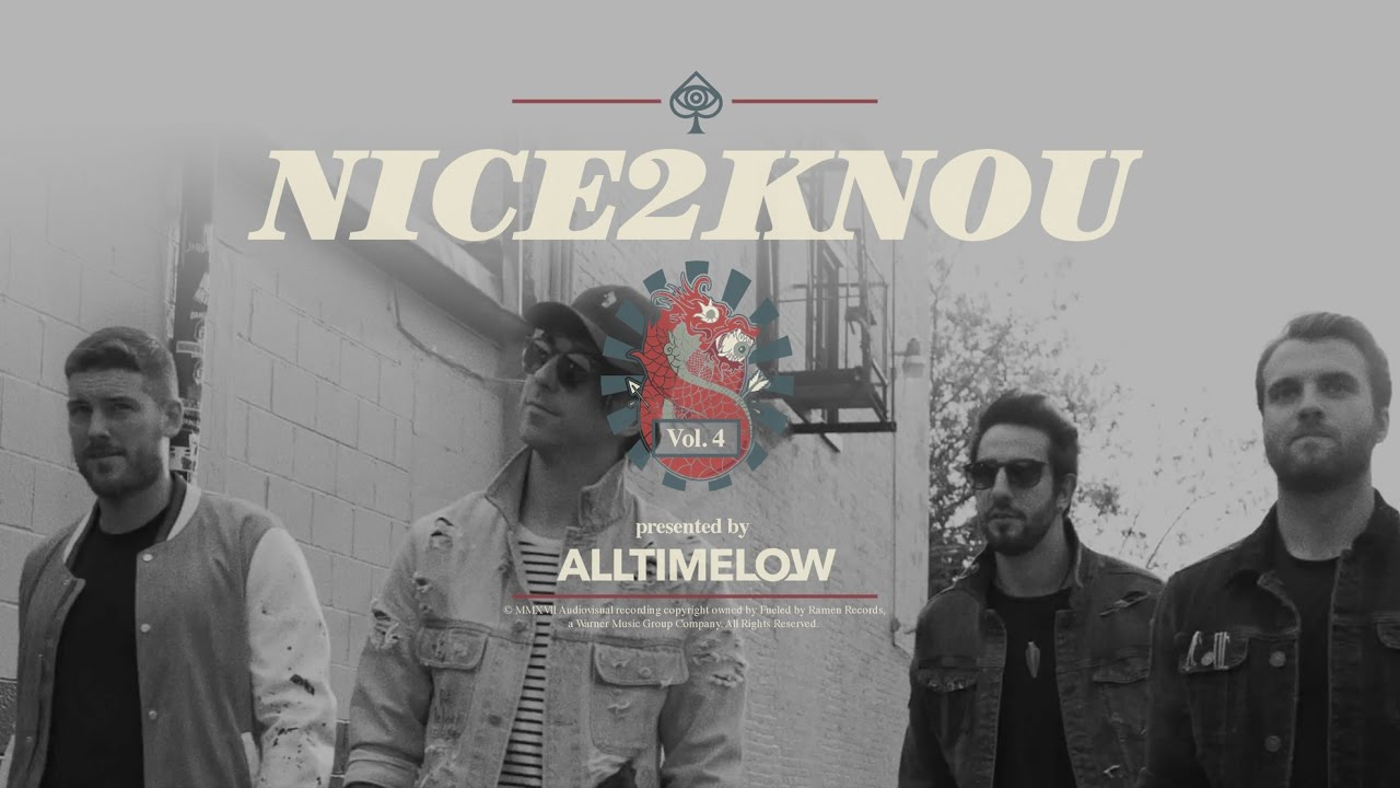 """All Time Low think it's been """"Nice2KnoU"""" on new song and video"""