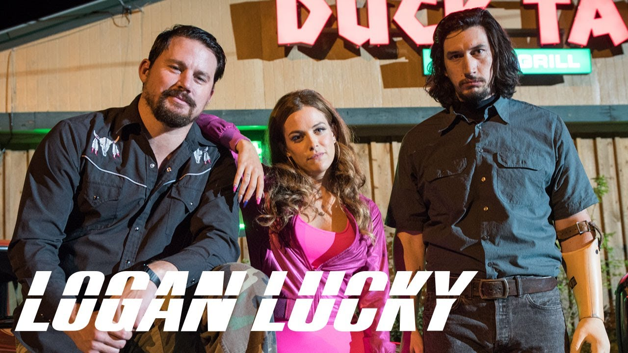 Time to rob a NASCAR race in first trailer for 'Logan Lucky'