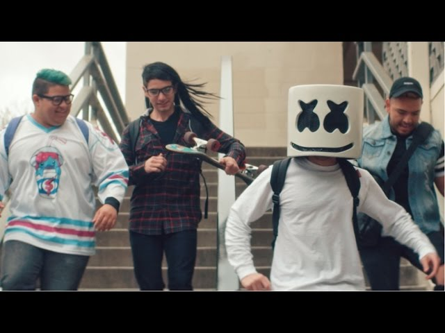 """Marshmello graduates to bigger things in """"Moving On"""" video"""