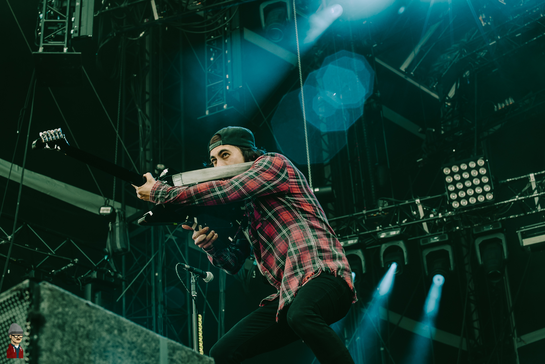 PHOTOS: Pierce The Veil, Architects, Rancid and many more rock Download Festival France