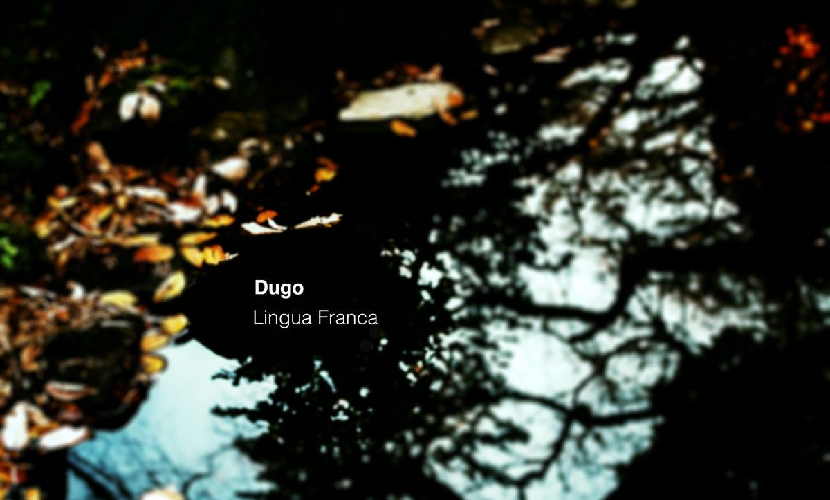 Dugo's 'Lingua Franca' is an electronica mind-blower