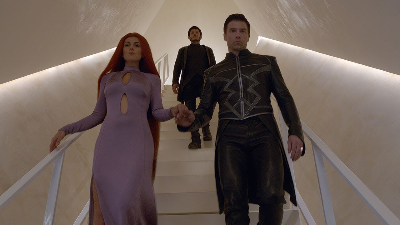 Marvel hopes a cute, giant dog will make you want to watch 'Inhumans'