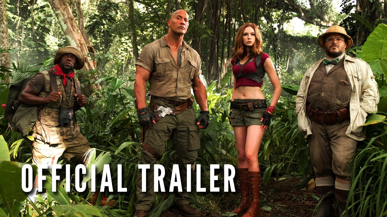The game has changed in first trailer for 'Jumanji: Welcome to the Jungle'