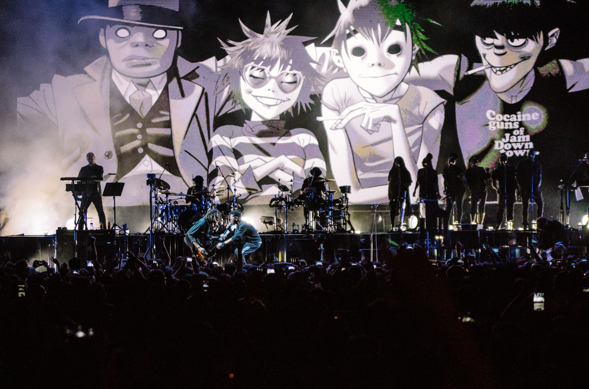 PHOTO GALLERY: Gorillaz give Chicago a night to remember