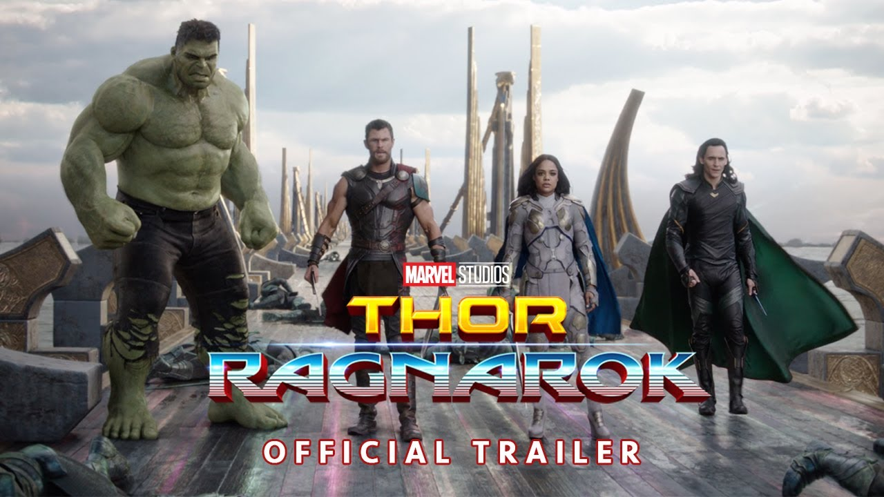 Thor and Hulk team up in the latest 'Thor: Ragnarok' trailer