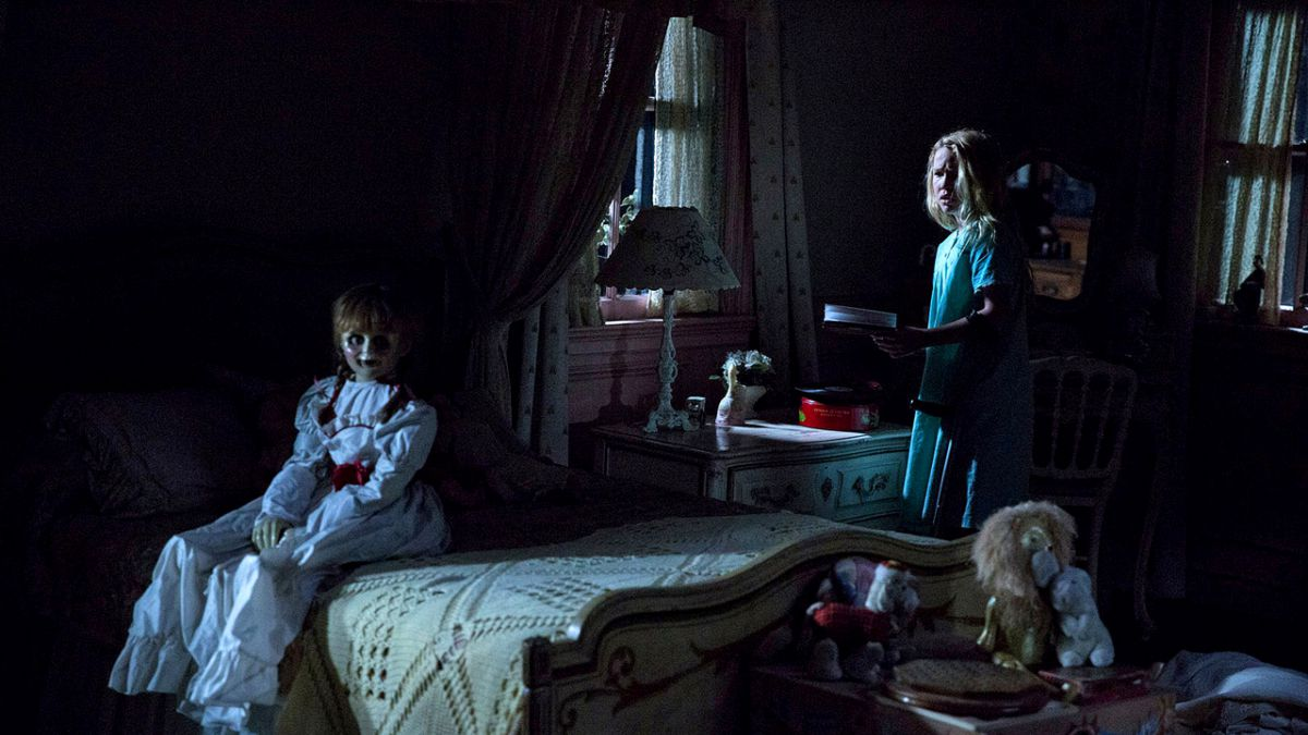 'Annabelle: Creation' would be scary were it not for, you know, the silly doll