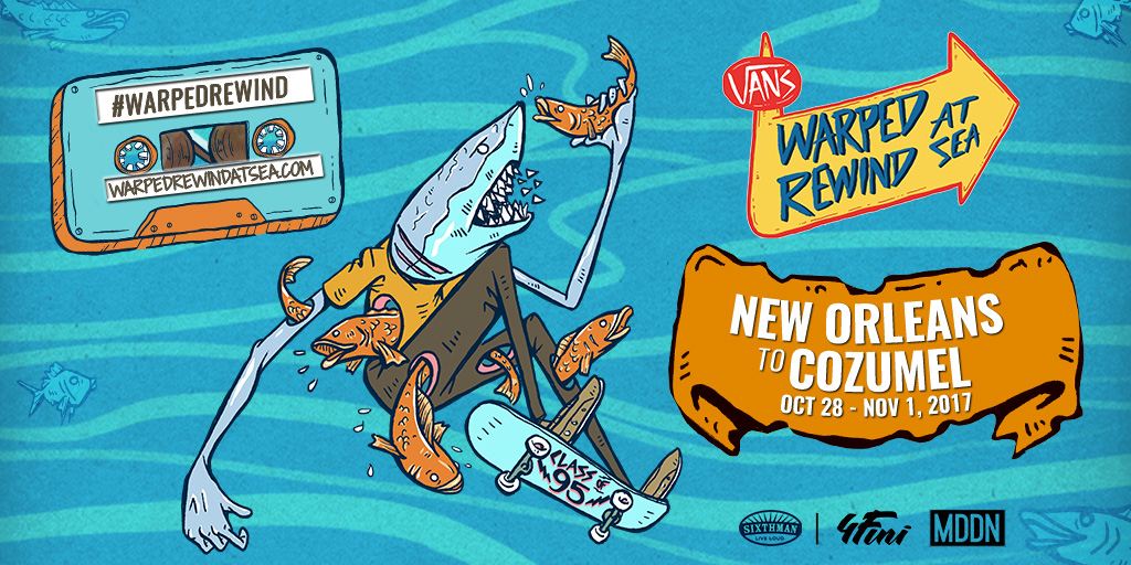 CONTEST: Win a cabin for 2 on Warped Rewind At Sea