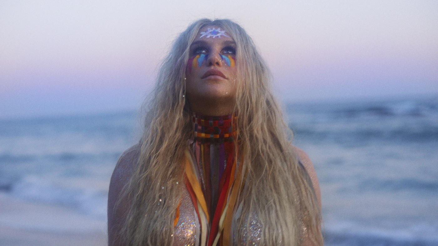 On 'Rainbow,' Kesha tells her story by making the music she wants