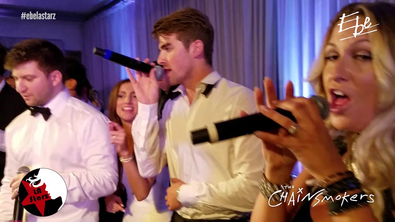 """Watch The Chainsmokers steal a wedding by performing their hit """"Paris"""""""