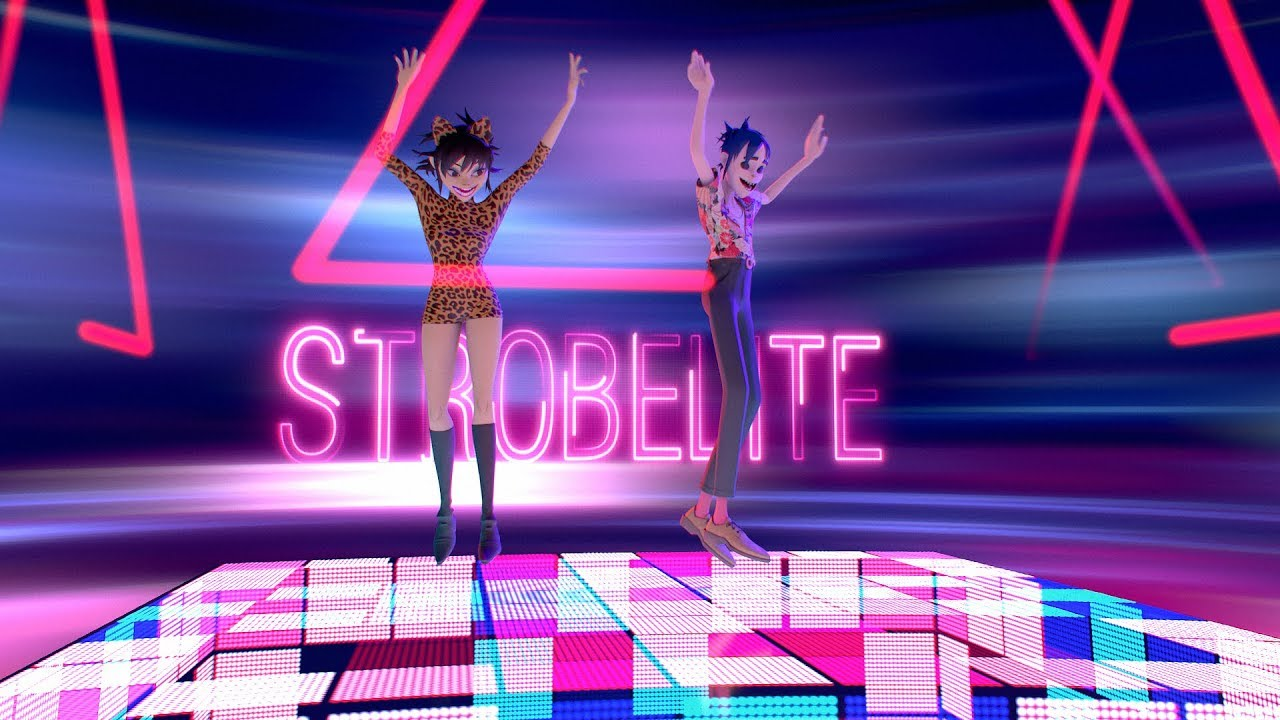 "It's time to dance with Gorillaz in video for ""Strobelight"""