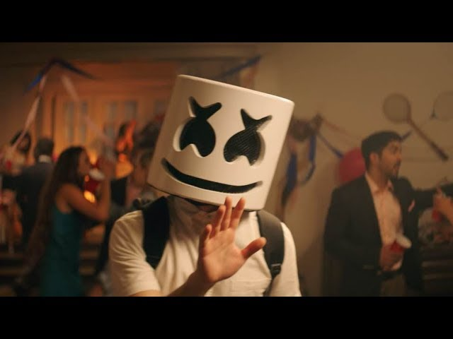 """Marshmello crashes a fraternity party in """"Find Me"""" video"""