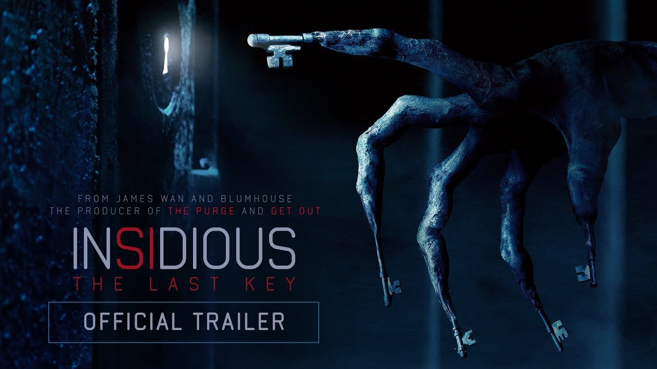 'Insidious: The Last Key' trailer teases the first horror film of 2018