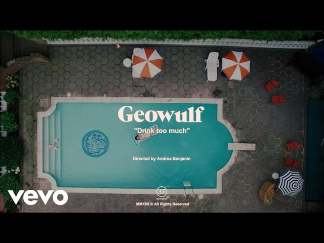 """Geowulf host a pool party for """"Drink Too Much"""" video"""