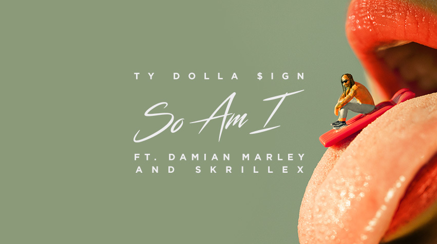 """Ty Dolla Sign teams up with Skrillex and Damian Marley for """"So Am I"""""""