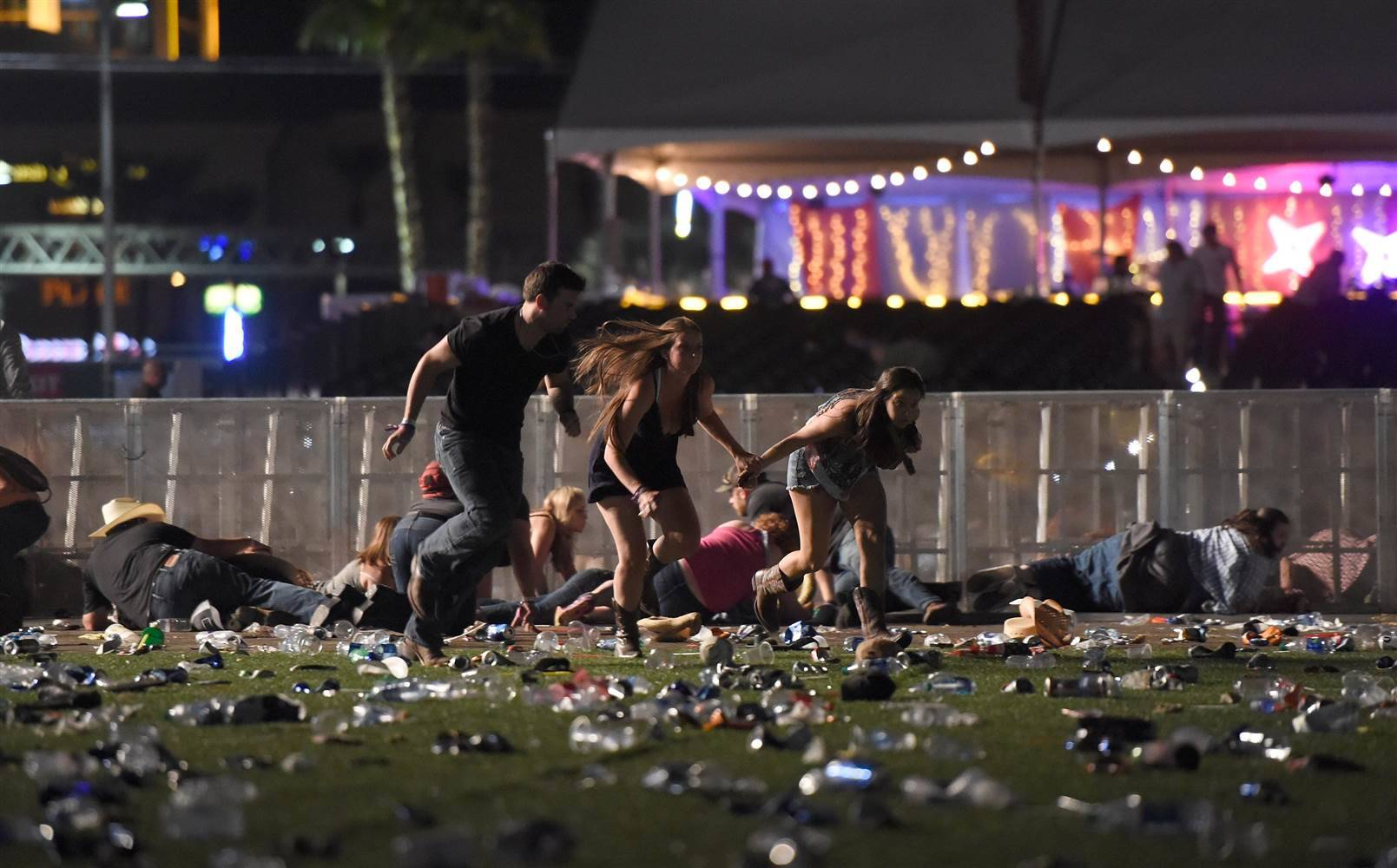 At least 58 dead and 500 injured following mass shooting at Route 91 Harvest Festival