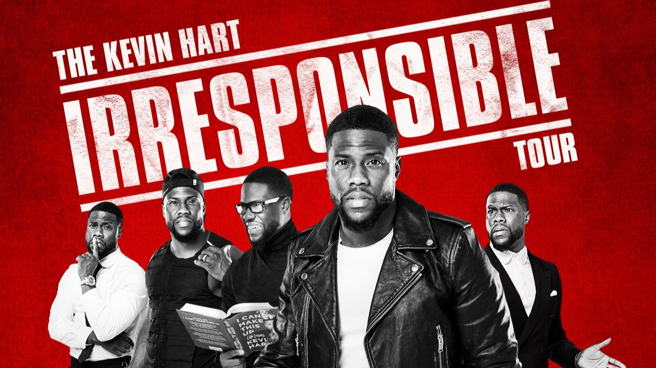 Kevin Hart reveals dates and venues for 2018 'Irresponsible' comedy tour