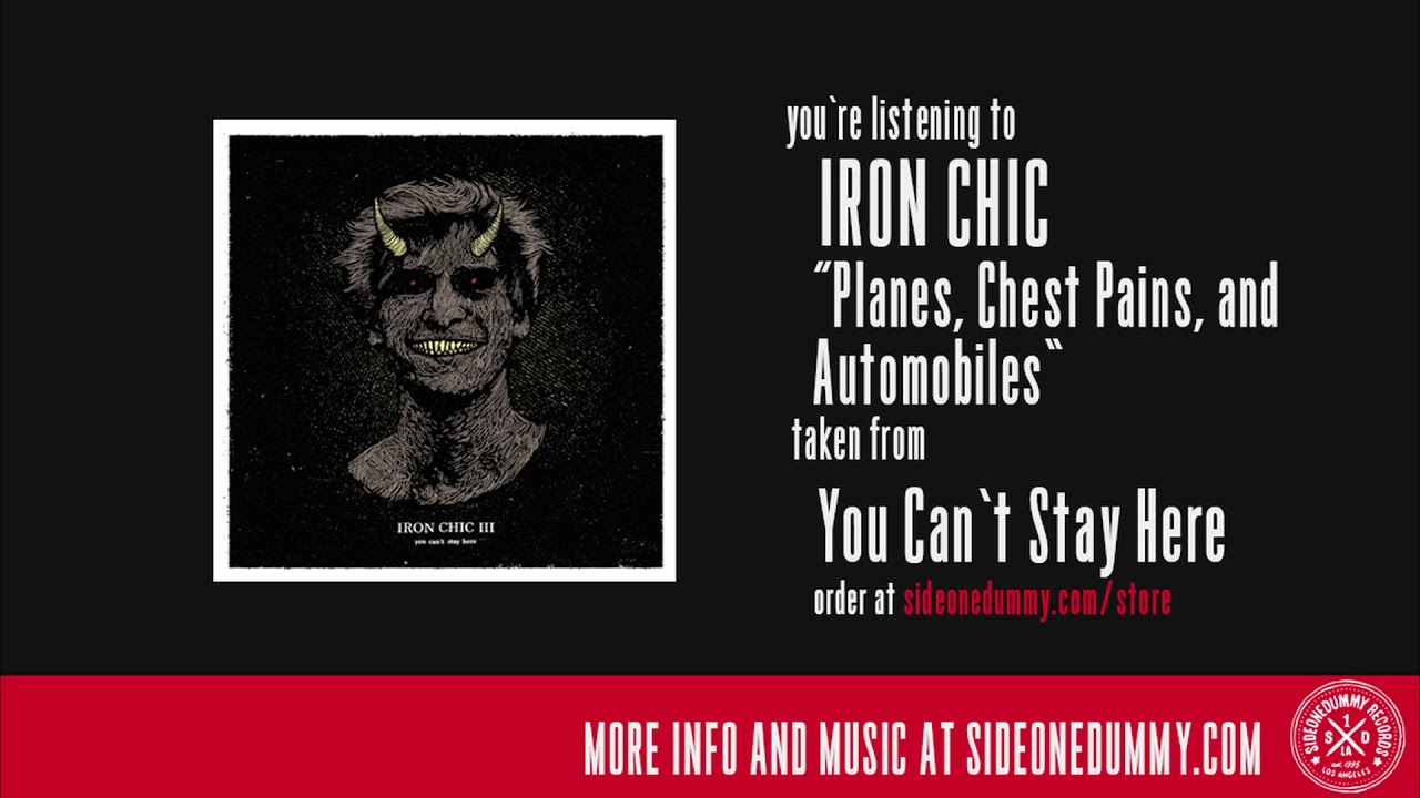 """Iron Chic announce tour, stream """"Planes, Chest Pains And Automobiles"""""""
