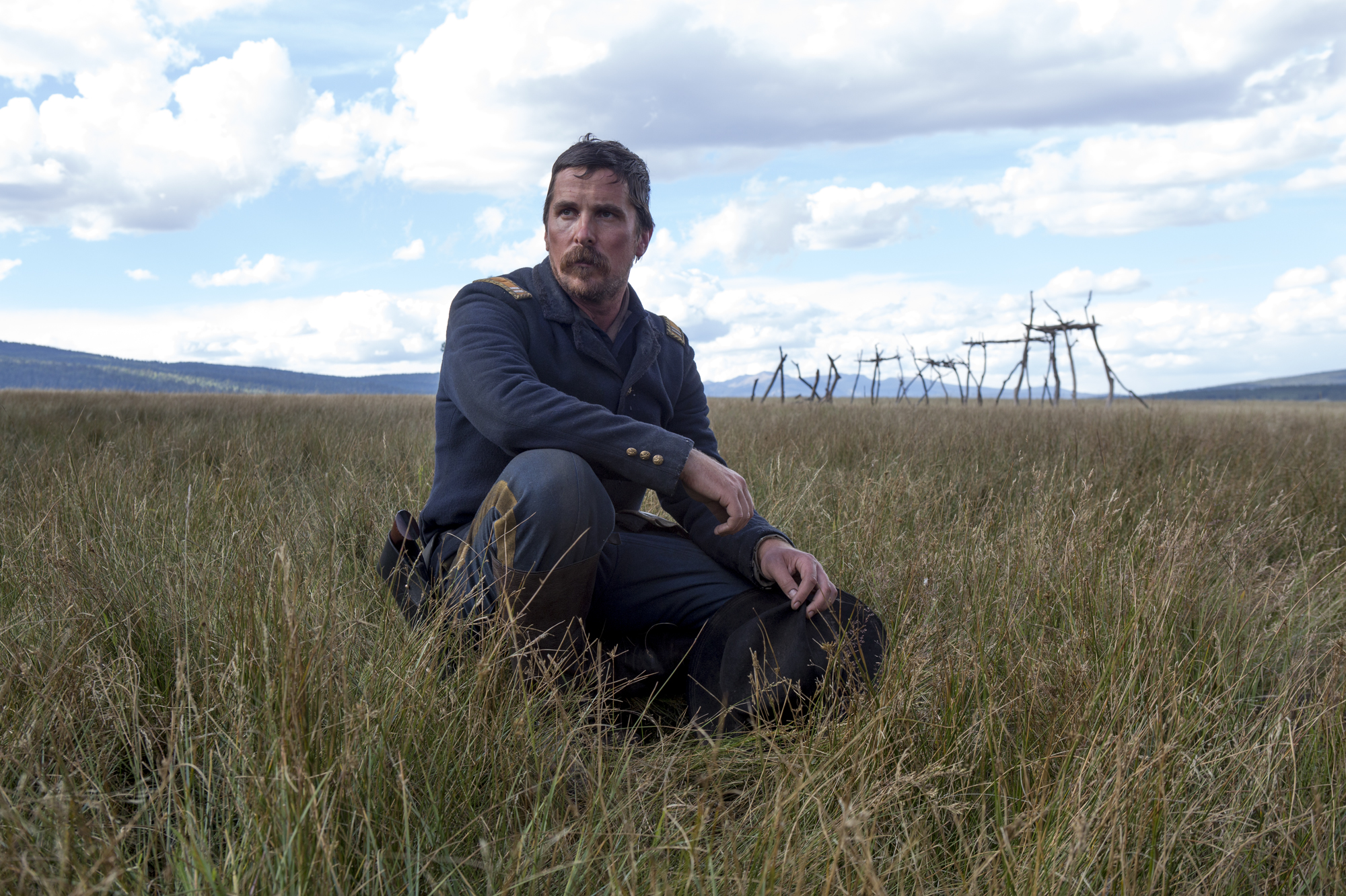 'Hostiles' proves bleak to a self-serious fault