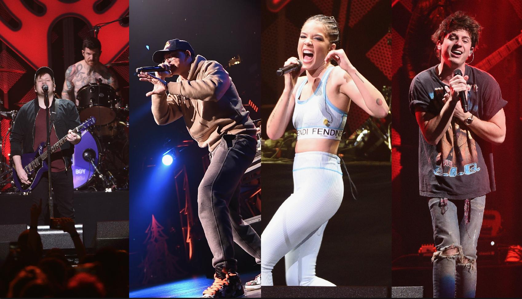 Fall Out Boy, Logic, Halsey, and more rock Q102's Jingle Ball 2017