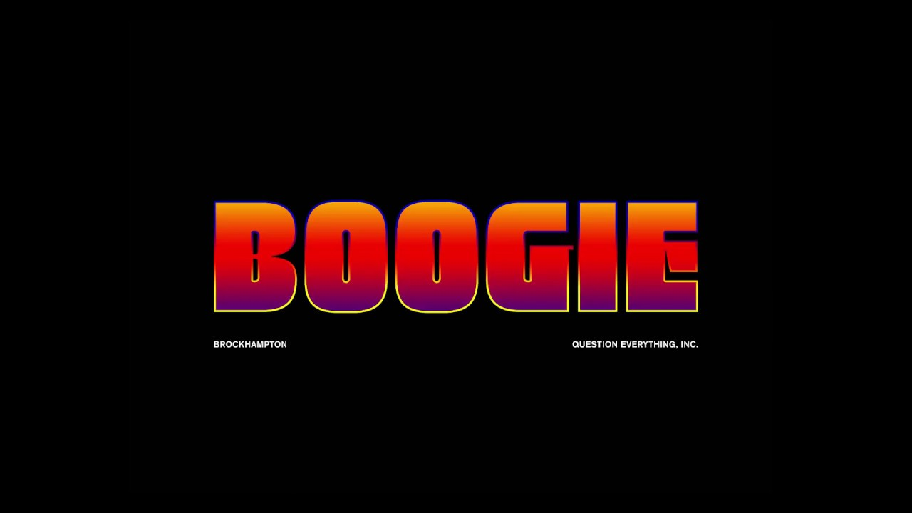 """BROCKHAMPTON share chaotic video for """"BOOGIE"""""""