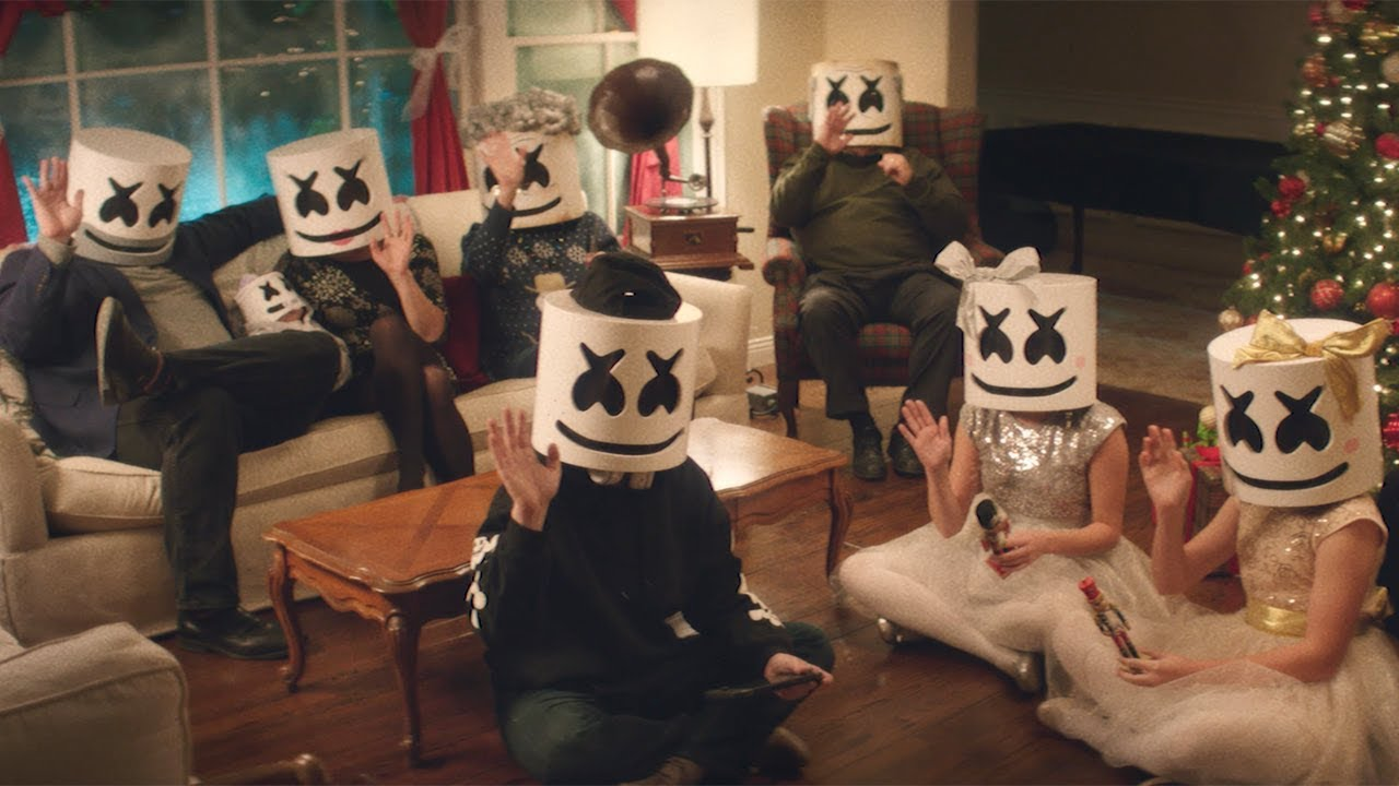 """Marshmello shares the gift of family with """"Take It Back"""" video"""
