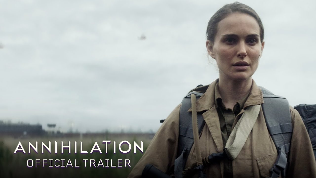 "Natalie Portman travels into ""The Shimmer"" in first 'Annihilation' trailer"