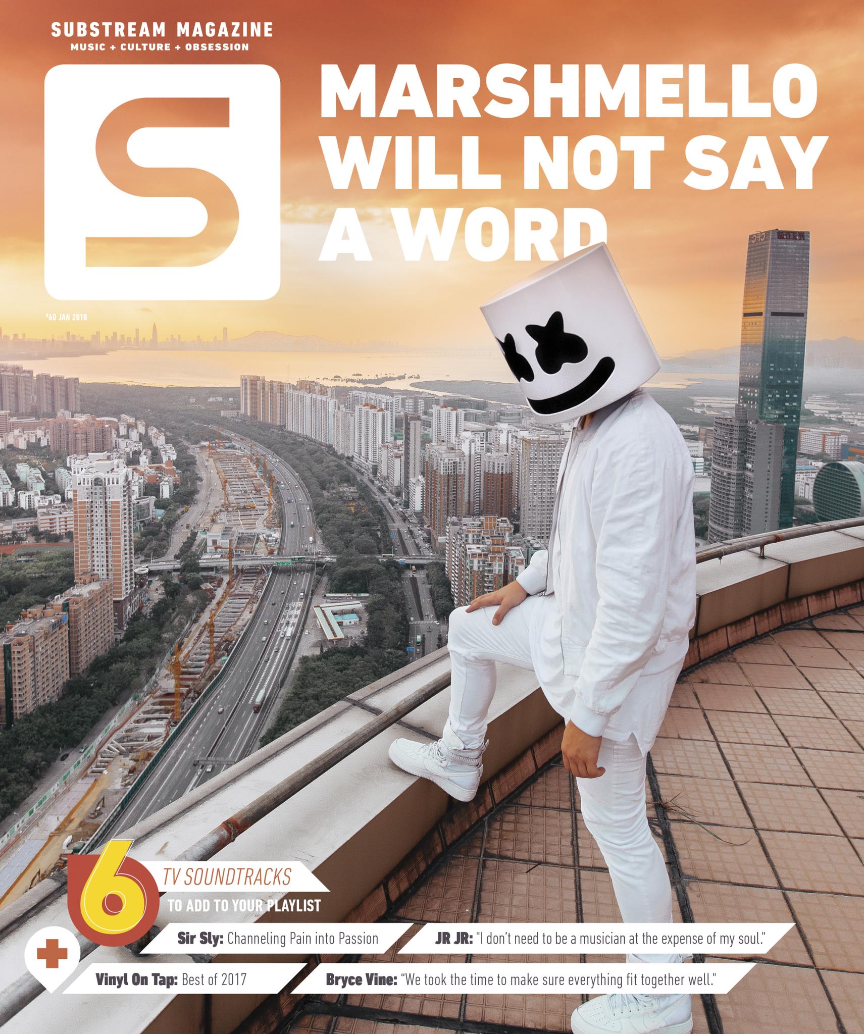 Substream Issue #60 starring Marshmello, Pale Waves, JR JR + MORE