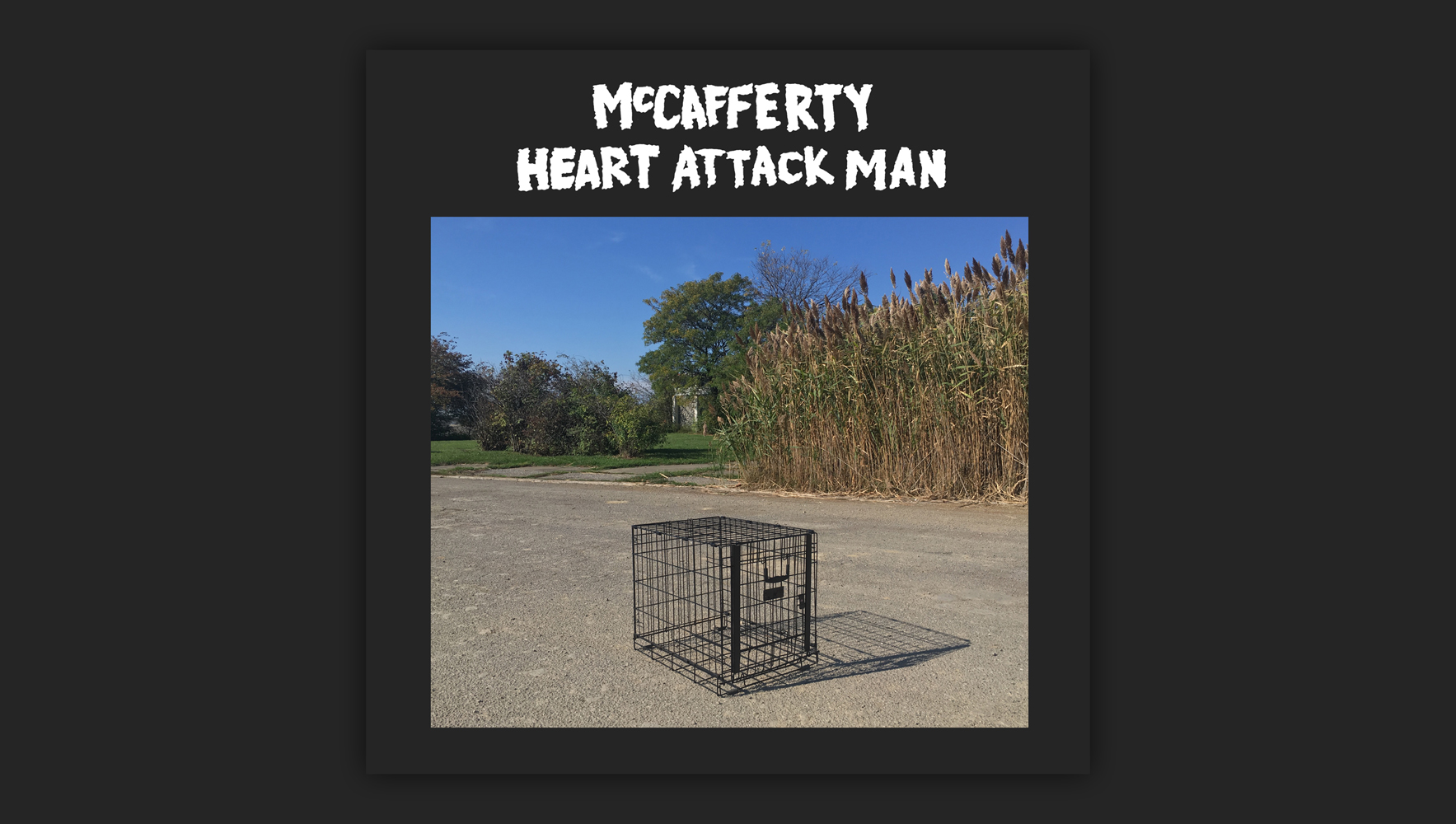 PREMIERE: McCafferty and Heart Attack Man howl at the moon with a new split EP