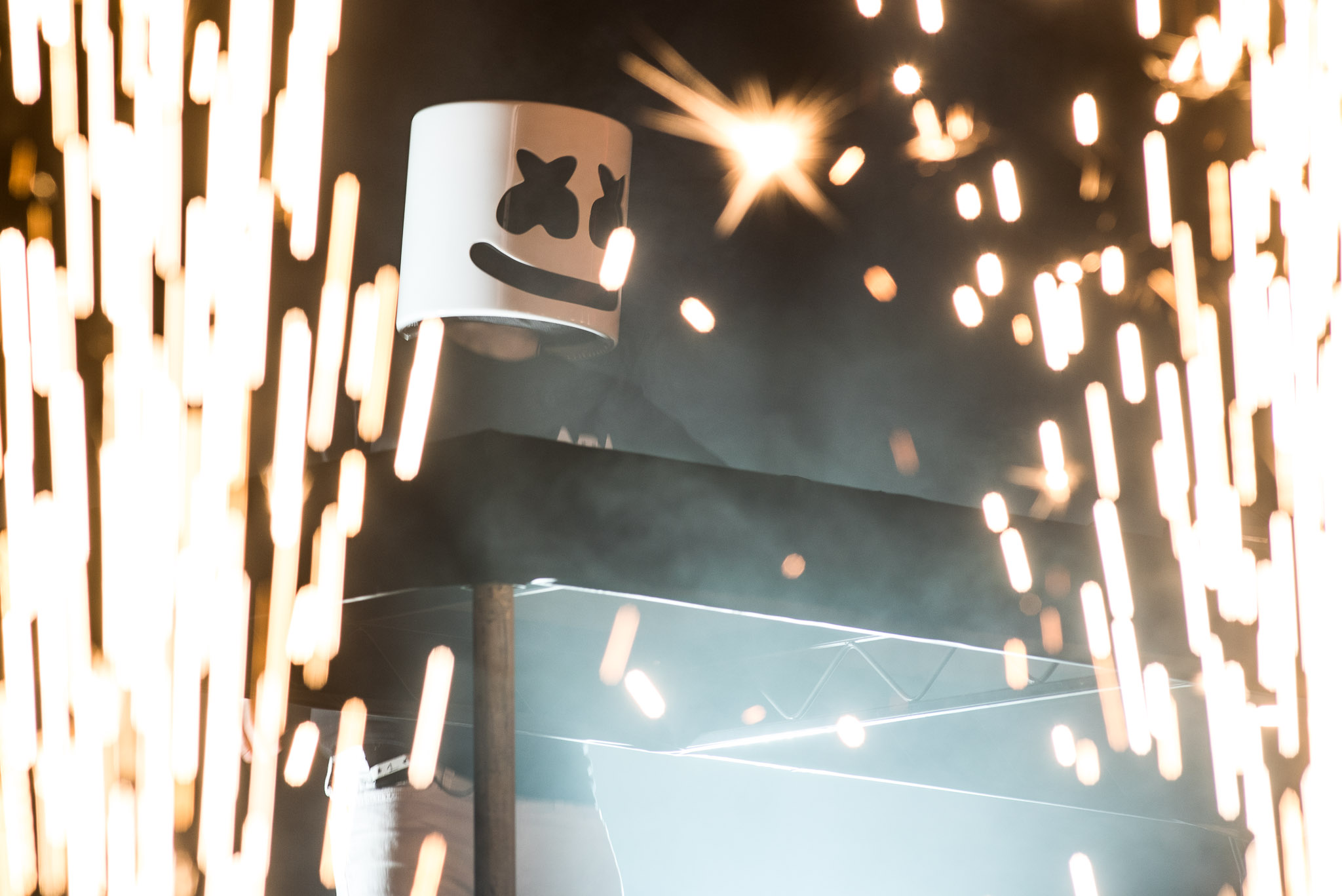 LIVE: Marshmello transforms a Brooklyn warehouse into Melloville