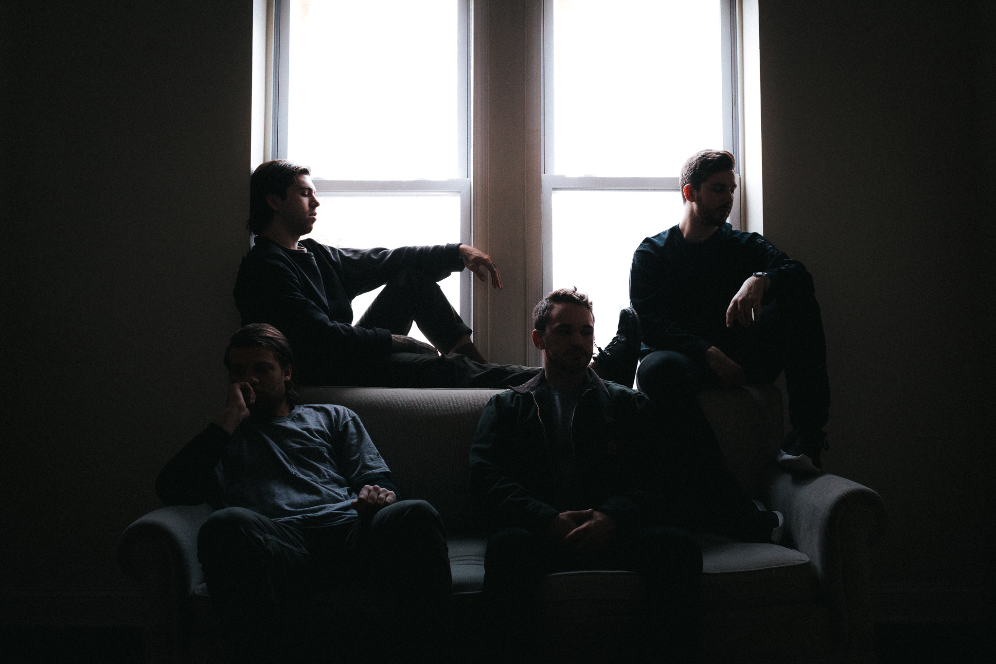 PREMIERE: Rich People strive for silver-linings on their 'Grace Session' EP