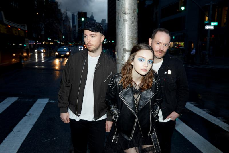 """Check out CHVRCHES' performance of """"Death Stranding"""" on 'Corden'"""