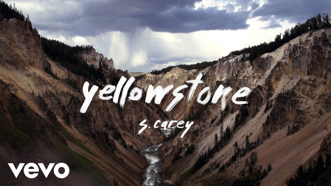 """Marvel at North America's natural beauty in S. Carey's """"Yellowstone"""" video"""