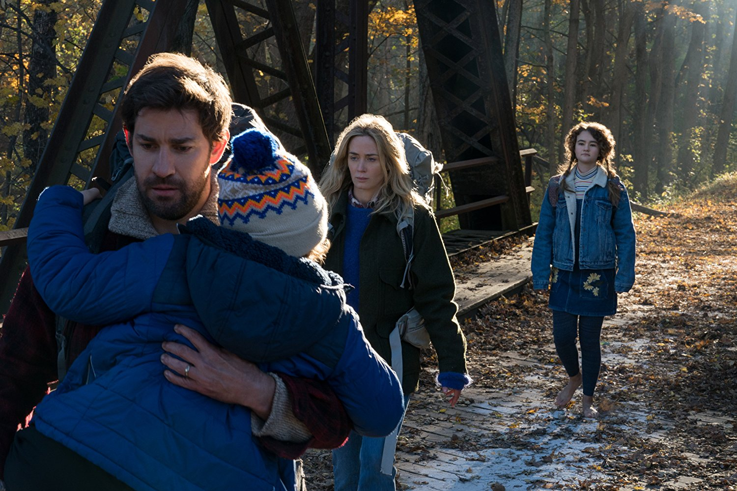 'A Quiet Place' is a tense thriller that uses sound to terrify its audience
