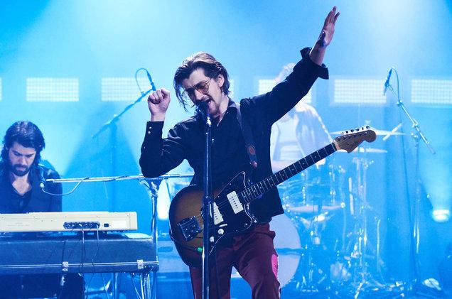"Arctic Monkeys perform ""She Looks Like Fun"" on The Late Late Show"