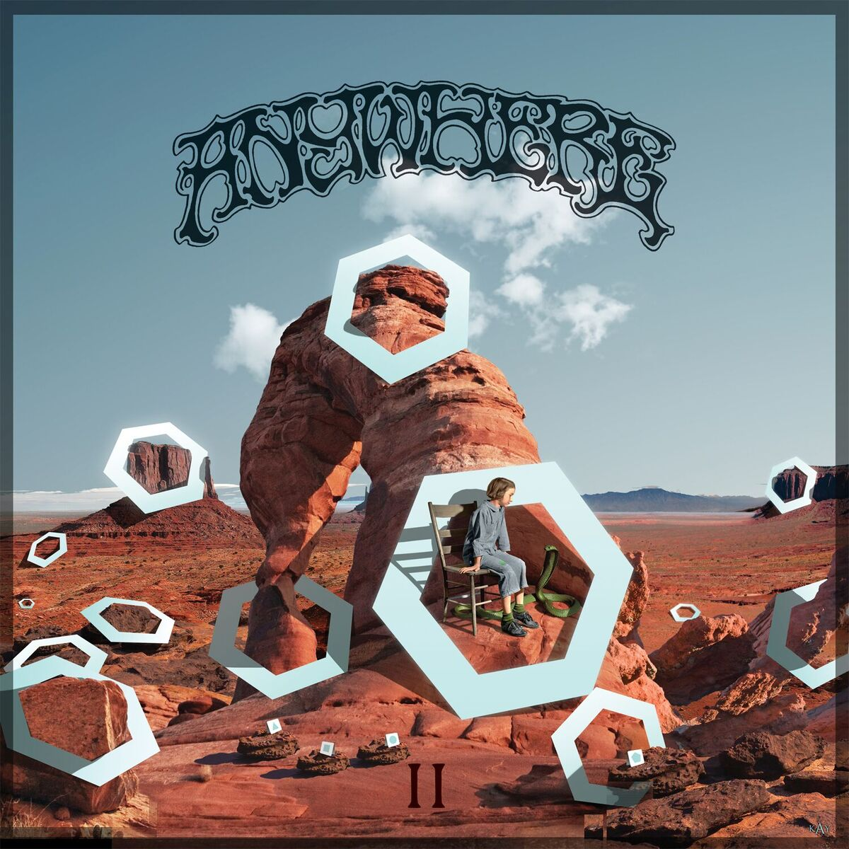 REVIEW: Psyche-Skronk Californian band Anywhere are back with a sequel