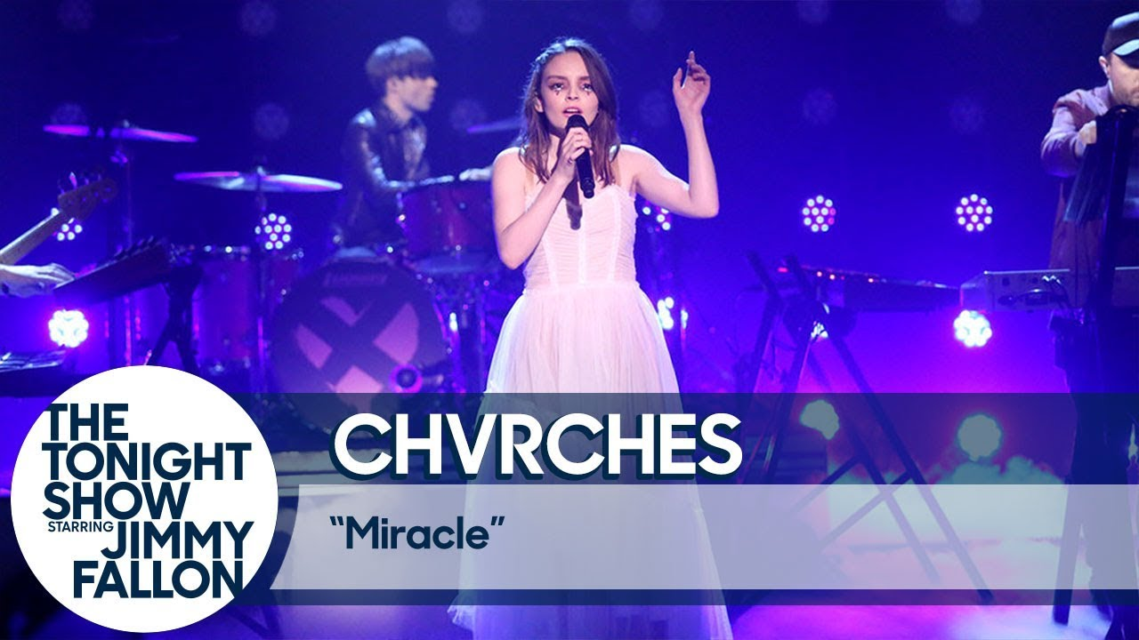 CHVRCHES give a dazzling performance on 'The Tonight Show'