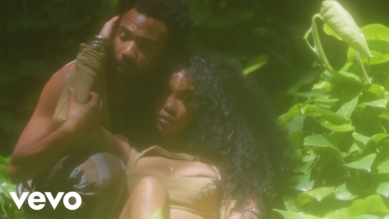 """SZA and Donald Glover team up for tropical themed""""Garden (Say It Like Dat)"""" video"""