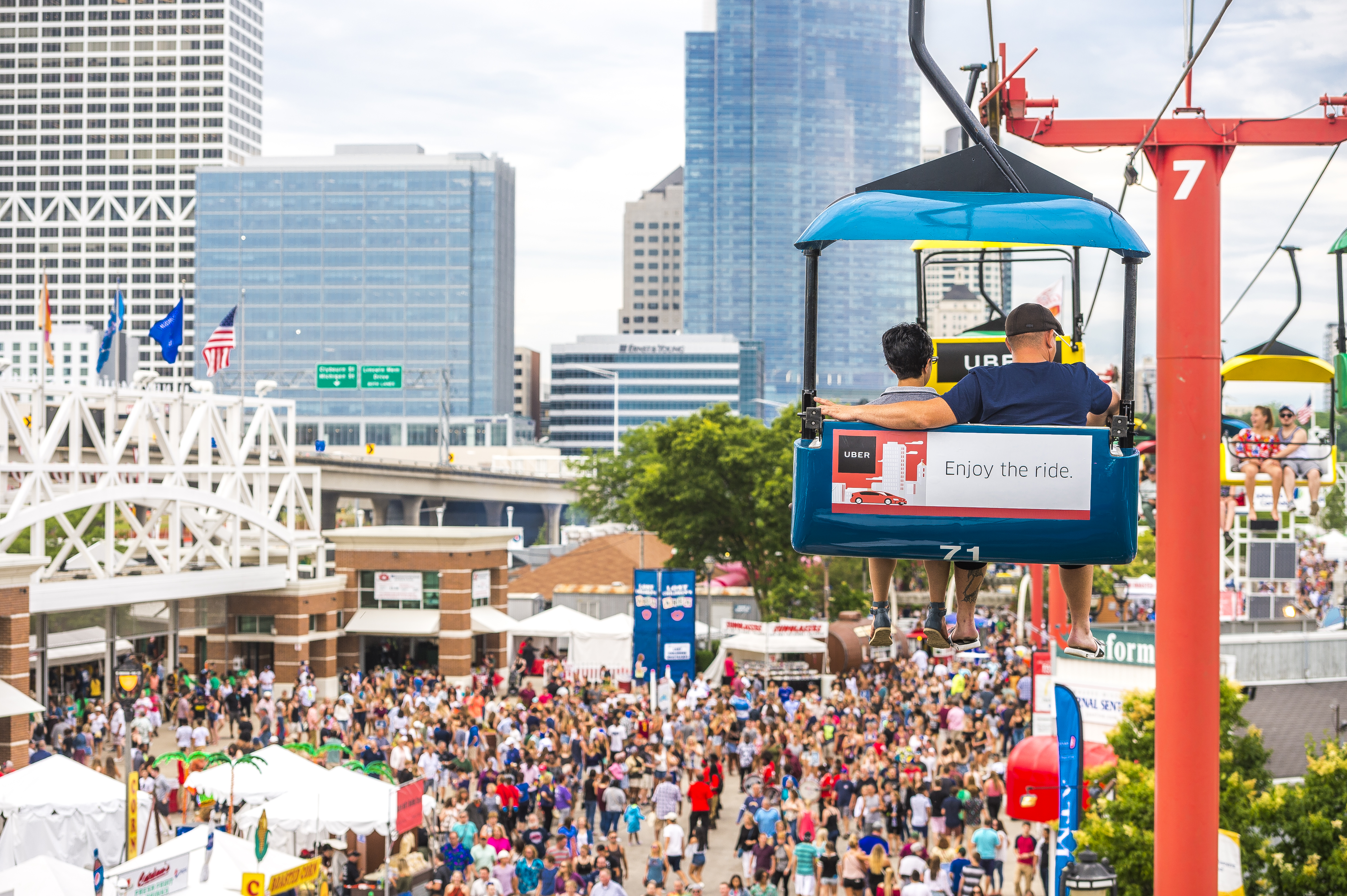 """Looking behind the scenes of""""The World's Largest Music Festival,"""" Summerfest"""
