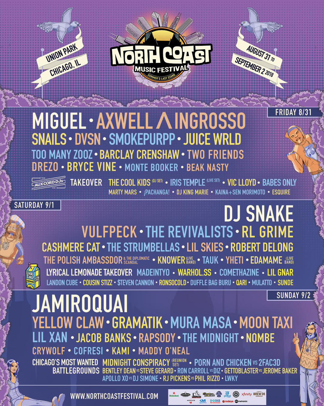 Win tickets to North Coast Music Festival!