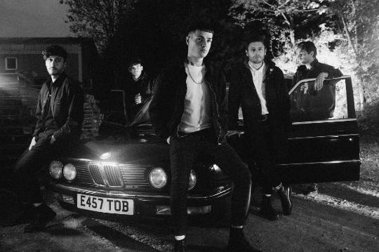 "Boston Manor release black and white video for ""Bad Machine"""